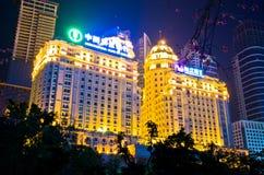 Landbouw Bank van China in guangzhou Royalty-vrije Stock Afbeeldingen