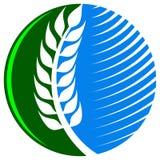 Landbouw embleem royalty-vrije illustratie