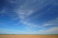 Landbouw gebied stock afbeeldingen