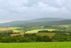 Landbouw landschap stock fotografie