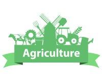 Landbouw op het lint vector illustratie