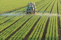 Landbouw tractor Royalty-vrije Stock Afbeeldingen
