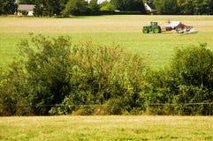 Landbouw tractor Stock Afbeeldingen