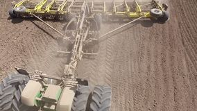 Landbouw veldwerk stock video