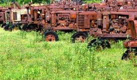 Landbouw Vroegere Tractoren Stock Fotografie