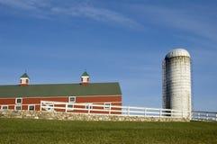 Landbouwbedrijf 1 van New England Stock Afbeelding