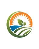 Landbouwbedrijf bedrijfs abstracte 1 zakelijke verzekeringsamenvatting Stock Afbeeldingen