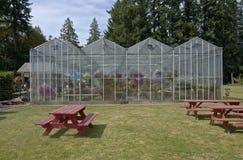 Landbouwbedrijf en tuinkinderdagverblijf in Canby Oregon Stock Foto