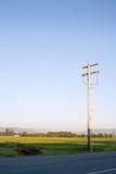 Landbouwbedrijf in het platteland Stock Foto
