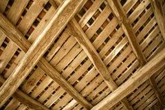 Landbouwbedrijf houten kader royalty-vrije stock fotografie