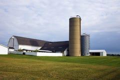 Landbouwbedrijf in Illinois Stock Foto