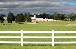Landbouwbedrijf in Maryland Stock Foto