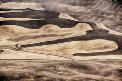 Landbouwbedrijf op Palouse in de Herfst royalty-vrije stock foto