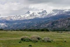Landbouwbedrijf Patagonië Argentinië Stock Foto's