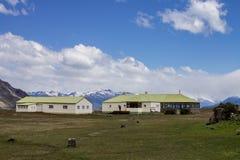 Landbouwbedrijf Patagonië Argentinië Royalty-vrije Stock Afbeeldingen