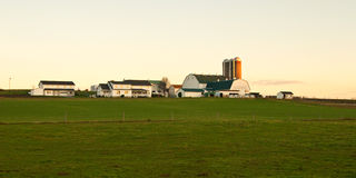Landbouwbedrijf in Pennsylvania stock foto