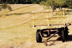 Landbouwbedrijfaanhangwagen Stock Afbeeldingen