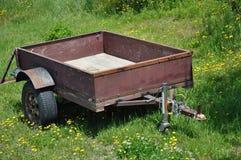 Landbouwbedrijfaanhangwagen royalty-vrije stock afbeelding