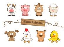 Landbouwbedrijfdieren Royalty-vrije Stock Afbeeldingen