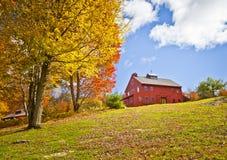 Landbouwbedrijfhuis Stock Foto's