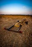 Landbouwbedrijfmachines Stock Afbeeldingen