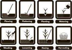 Landbouwbedrijfthema Vector Illustratie