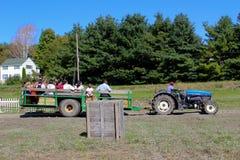 Landbouwbedrijfvrachtwagen Royalty-vrije Stock Foto