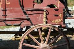 Landbouwbedrijfwagen Stock Afbeelding