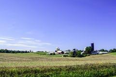 landbouwbedrijven stock foto's