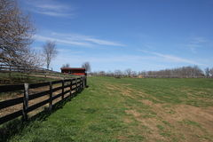 Landbouwbedrijven van Virginia royalty-vrije stock afbeelding