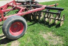 Landbouwer, de landbouwmachines Stock Afbeelding