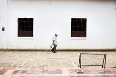 Landbouwer in Guane Stock Afbeelding