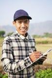 Landbouwer Man Stock Afbeelding