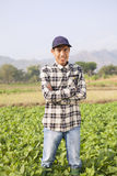 Landbouwer Man Stock Foto