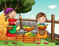 landbouwers Stock Foto's