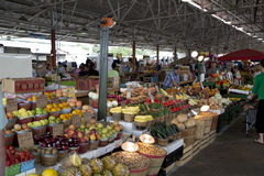 Landbouwersmarkt Royalty-vrije Stock Fotografie
