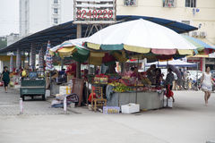 Landbouwersmarkt Stock Foto's