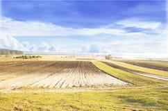 Landbouwgrond royalty-vrije stock foto's