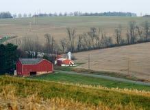 Landbouwgrond en gebieden Royalty-vrije Stock Afbeelding
