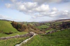 Landbouwgrond in Wales royalty-vrije stock foto