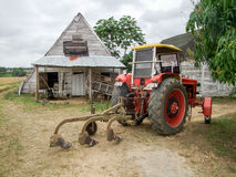 Landbouwlandschap in Cuba stock foto