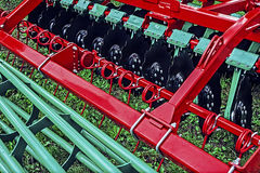 Landbouwmachine. Detail 149 Stock Fotografie