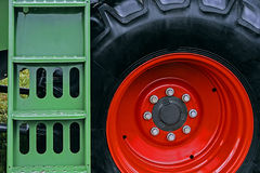 Landbouwmachine. Detail 162 Royalty-vrije Stock Foto