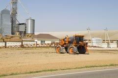 Landbouwmachine voor vloeibare meststof Stock Afbeeldingen
