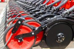 Landbouwmachineclose-up Royalty-vrije Stock Foto's