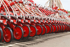 Landbouwmachineclose-up Royalty-vrije Stock Afbeelding
