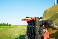 Landbouwmachines Stock Afbeelding