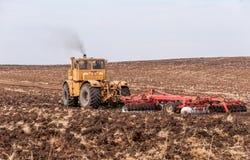 Landbouwmachines Stock Afbeeldingen