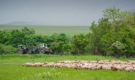 Landbouwmeningen Royalty-vrije Stock Foto's