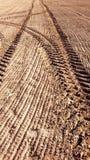 Landbouwsporen Royalty-vrije Stock Foto